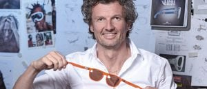 Christoph Egger mit seiner gloryfy-Brille