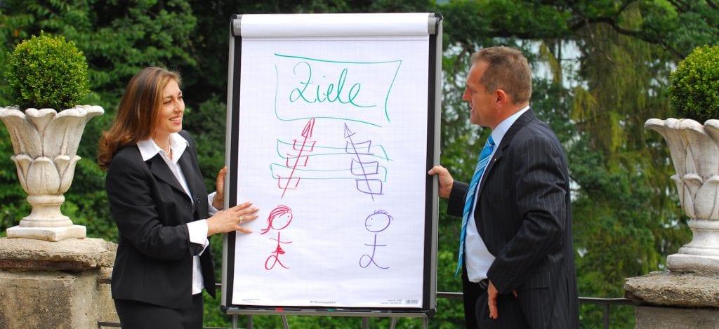 Autoren: Mediatorin Dipl. Oec. Carmen Uth (Emotionstrainerin) und Investor Dr. Hans-Jürgen Uth (Machbarkeits-Stratege)