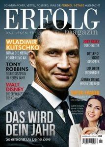 Auszug aus dem aktuellen Heft vom ERFOLG Magazin