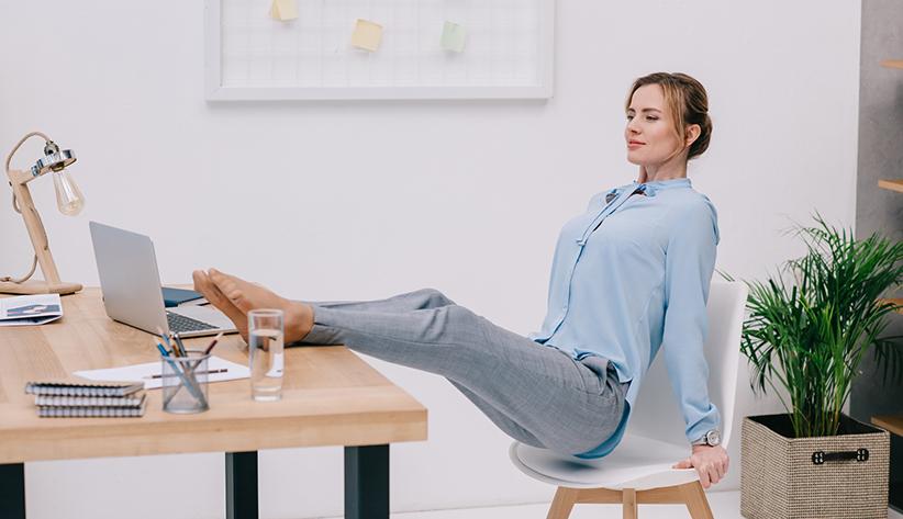 Mitarbeitergesundheit – Übungen für zu Hause und während