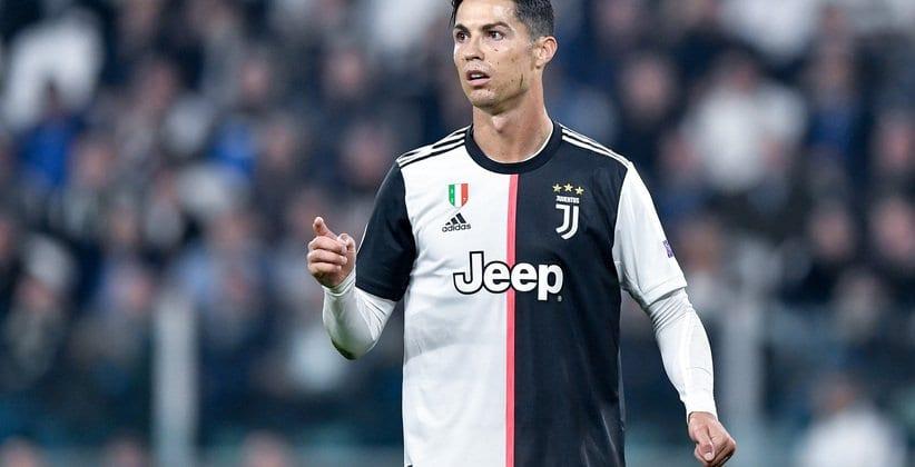 Cristiano Ronaldo Trikot Juventus Turin Fußballspiel