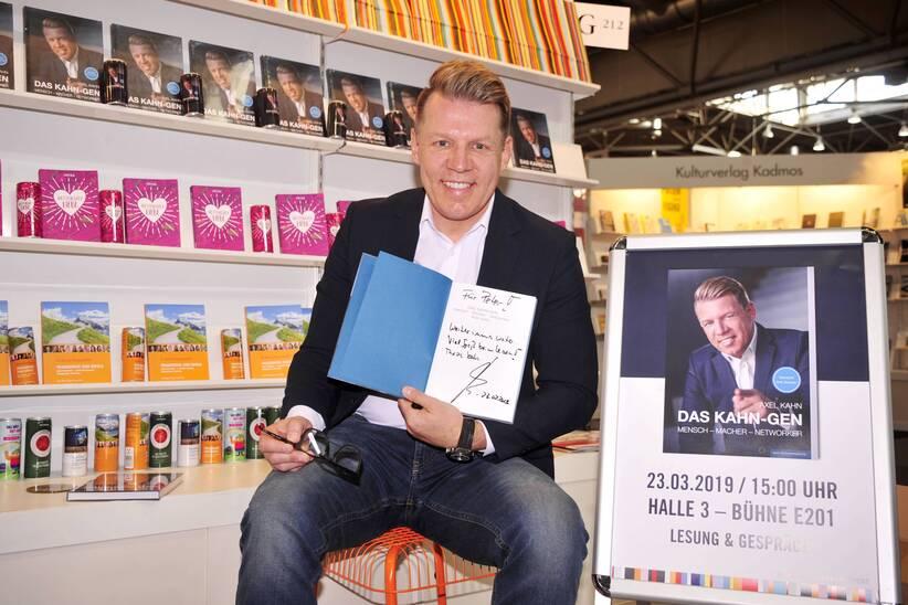Axel Kahn Buchpräsentation