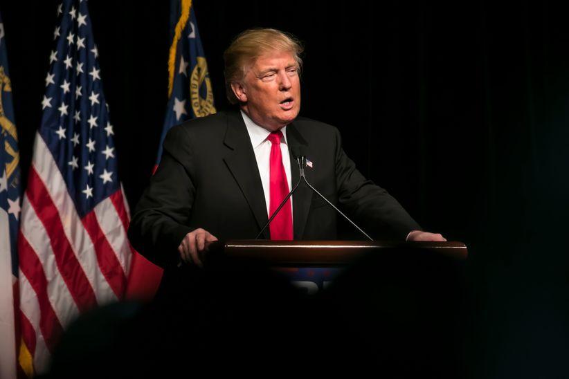 Donald Trump Rede Amerika Präsident USA